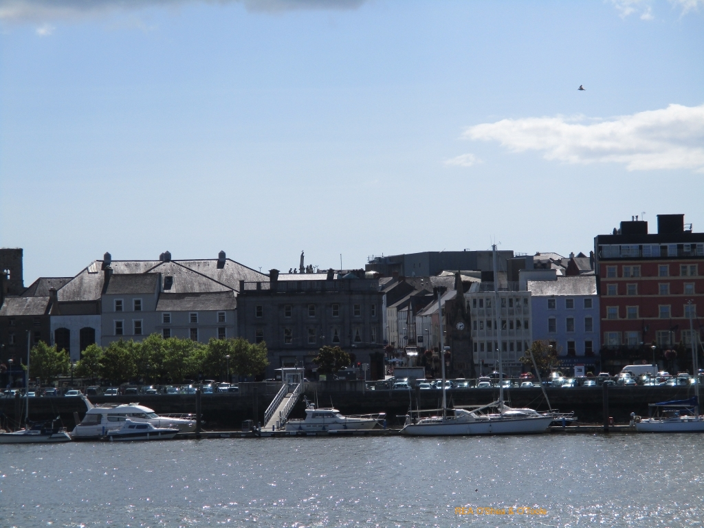 Views of Waterford City's Quays