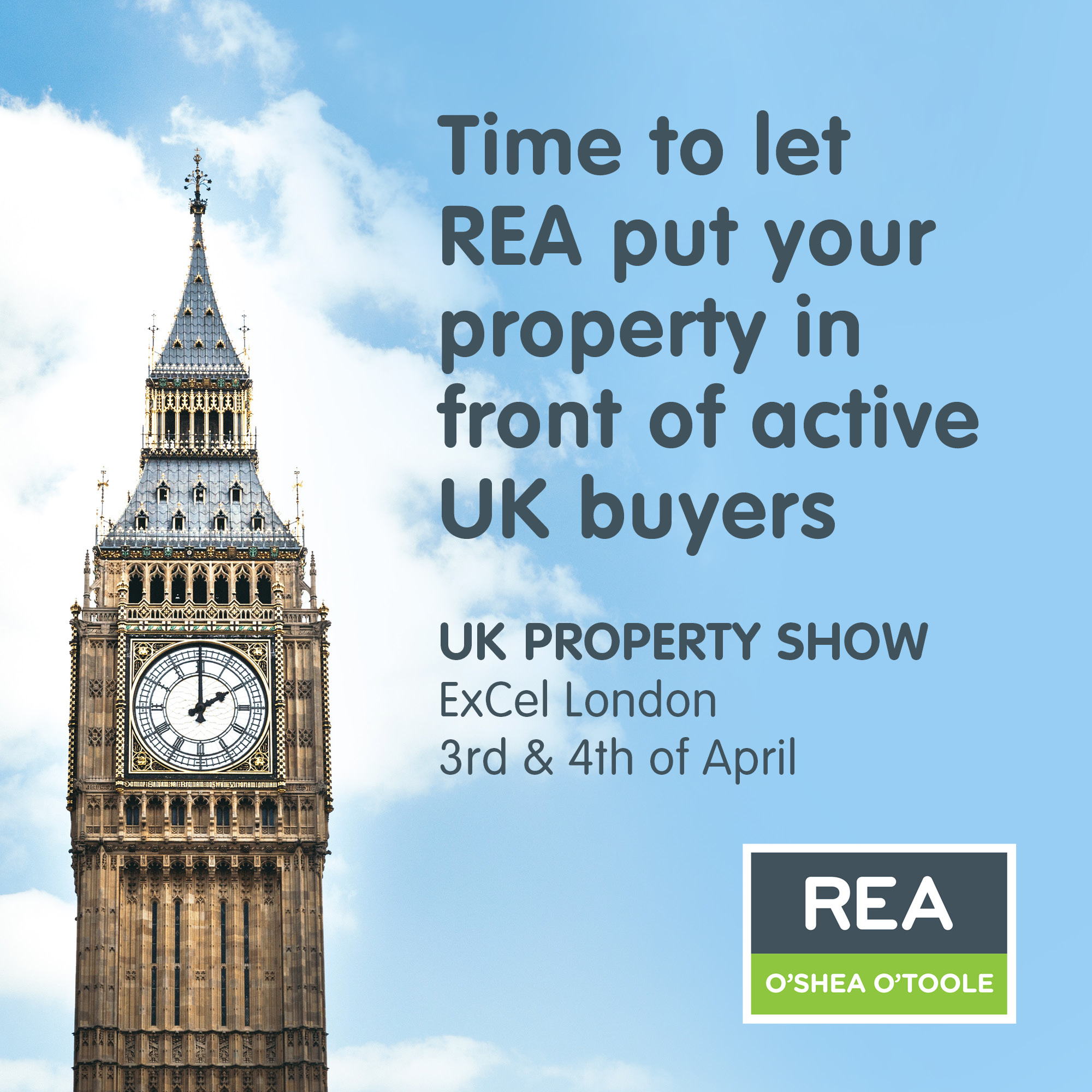 REA LONDON INSTAGRAM POST AGENT