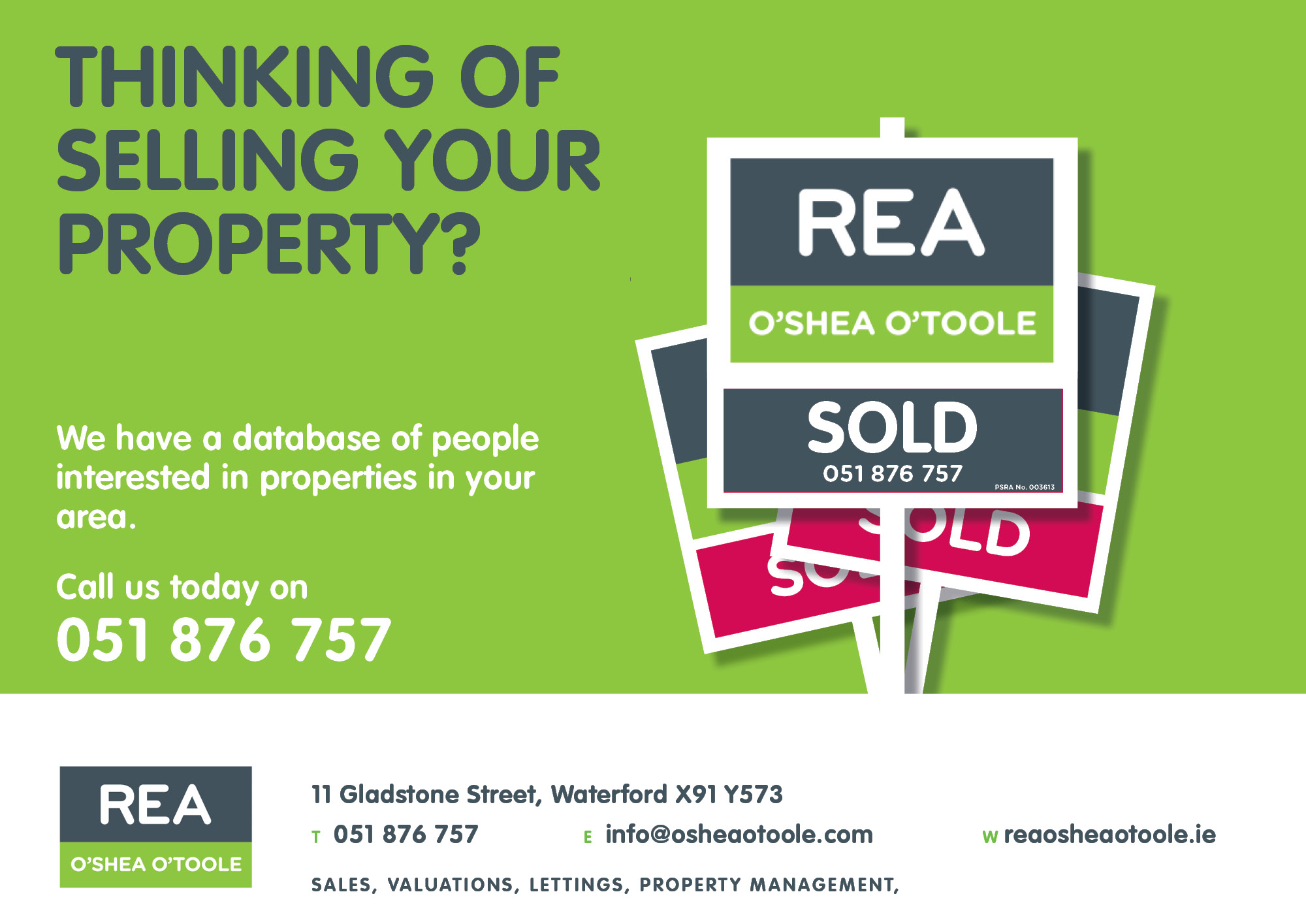 REA Thinking of Selling Recently Sold