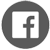 facebook icon grey